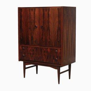 Vintage Danish Rosewood Television Cabinet, 1960s