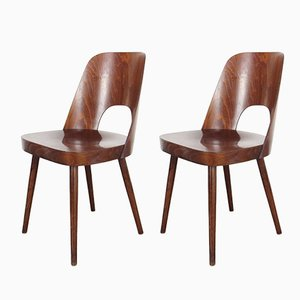 Dining Chairs by Oswald Haerdtl for TON, 1950s, Set of 2