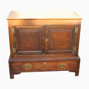 Antique Oak Cabinet, 1910s
