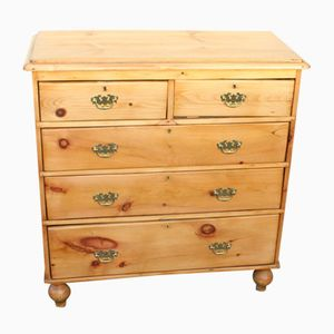 Antique Pine Chest of Drawers, 1910s