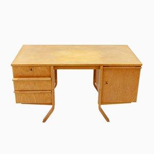 EB04 Serie Schreibtisch aus Birke von Cees Braakman für Pastoe, 1950er