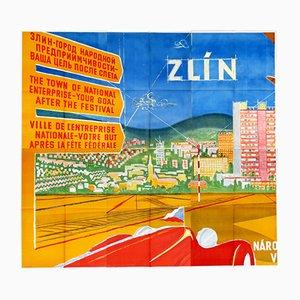 Poster pubblicitario BAŤA ZLÍN, 1948