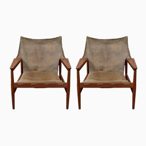 Easy Chairs by Hans Olsen for Viska Möbler, 1960s, Set of 2