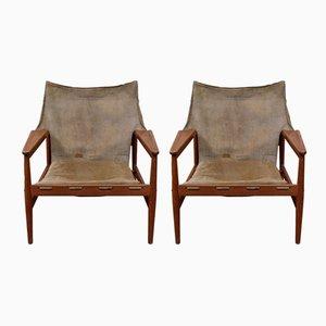 Sessel von Hans Olsen für Viska Möbler, 1960er, 2er Set