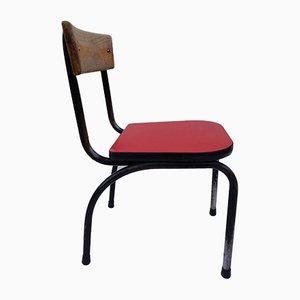 Belgian Children's Chair by Willy van der Meeren for Tubax, 1950s