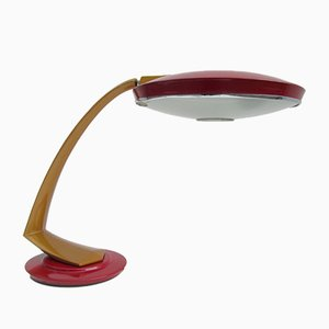 Lámpara de escritorio Boomerang española Mid-Century de Fase, años 60