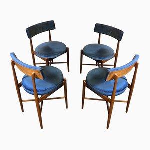 Mid-Century Esszimmerstühle aus Teak von G-Plan, 4er Set