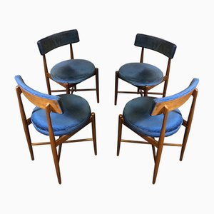 Mid-Century Teak Dining Chairs from G-Plan, Set of 4