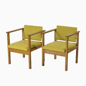 Vintage Armchairs by Jan den Drijver for Wooninrichting De Stijl, Set of 2