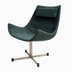 Mid-Century Scandinavian Lounge Chair, 1970s