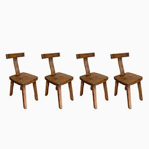 Chaises T Vintage par Olavi Hanninen pour Mikko Nupponen, Set of 4