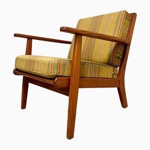 Mid-Century Danish Teak Easy Chair, 1960s
