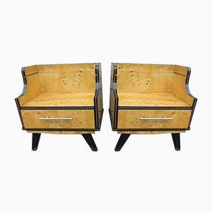 Vintage Cabinets, 1950s, Set of 2
