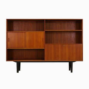 Vintage Danish Design Teak Bookcase