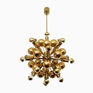 Golden Chandelier from Cosack, 1970s