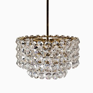 Viennese Crystal Chandelier, 1960s