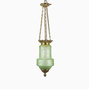 Lámpara colgante Jugendstil antigua, década de 1900