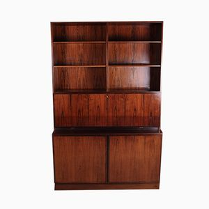 Danish Number 9 Rosewood Bookcase from Omann Jun, 1960s