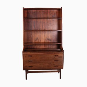 Danish Rosewood Secretaire by Johannes Sorth for Bornholm Møbelfabrik, 1960s