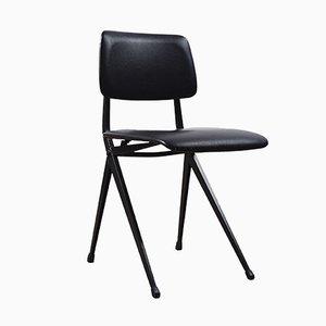 Chaise d'École Noire Vintage de Marko