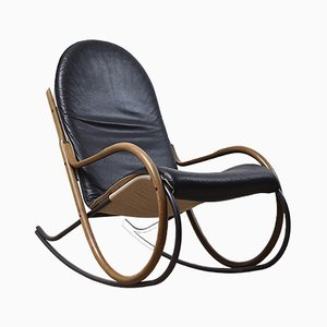 Vintage Nona Rocking Chair by Paul Tuttle for Strässle, 1970s