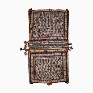 Sacca da sella Sumak antica in lana, anni '40