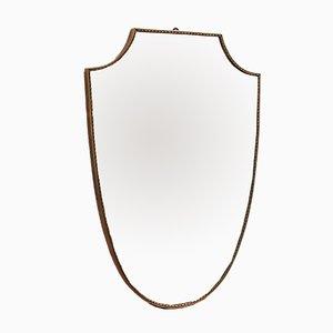 Specchio a muro Mid-Century, Italia, anni '50