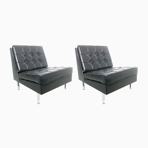 Vintage Ministerial Lounge Chairs, 1964, Set of 2