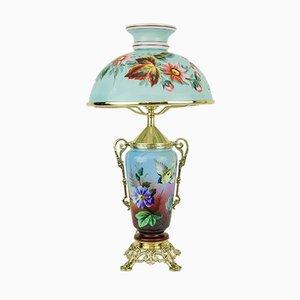 Lampada da tavolo antica, fine XIX secolo