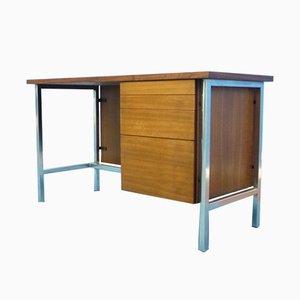 Damen-Schreibtisch aus Nussholz von Florence Knoll für Knoll International, 1950er