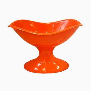 Culla Space Age in plastica arancione, anni '70