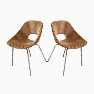 Französische Tulipe Chairs von Pierre Guariche für Steiner, 1950er, 2er Set