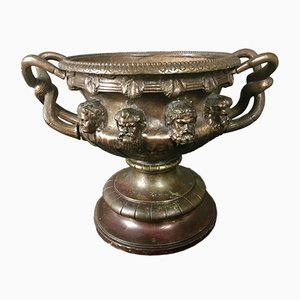 Vaso Warwick in bronzo, XIX secolo