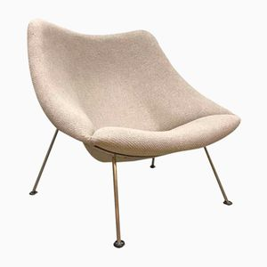 Vintage Model F157 Oyster Lounge Chair by Pierre Paulin for Artifort, 1960s