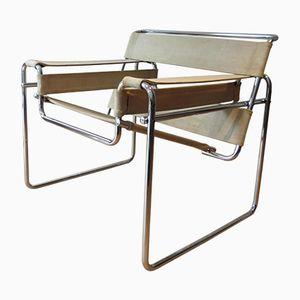 Chaises Wassily B3 par Marcel Breuer pour Gavina, 1968