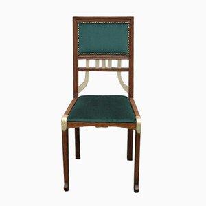 Chaise de Bureau Vintage en Chêne