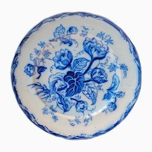 Plato de postre con flores azules de Wedgwood