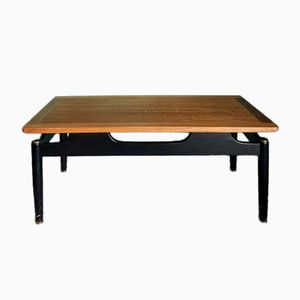 Vintage Librenza Ebonized Wood & Tola Coffee Table from G-Plan