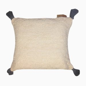 Natural Tassel Furry Wings Pillow by R & U Atelier