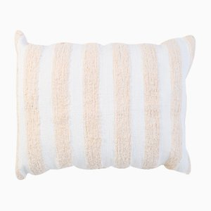 Natural Furry Blend Pillow by R & U Atelier