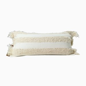 Natural Furry Blend Pillow by Nieta Atelier