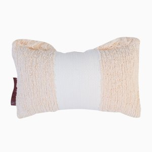 Natural Furry Pillow by Nieta Atelier