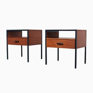 Vintage Teak Nightstands by Dick Cordemeijer for Auping, 1960s, Set of 2