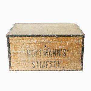 Baúl vintage de madera, años 20