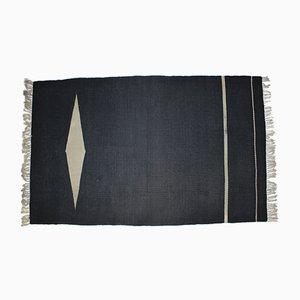 Schwarzer Teppich, 1950er