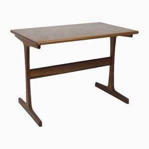 Petite Table Basse Vintage en Teck, 1970s