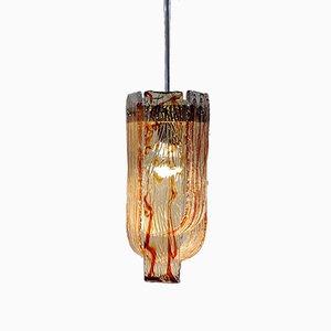 Lampe à Suspension Vintage par Carlo Nason pour Mazzega, 1960s