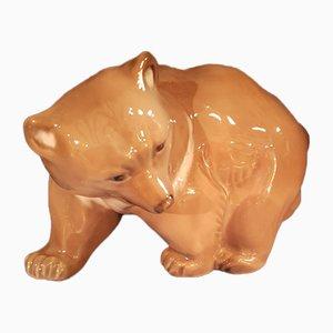 Vintage Bear Figurine from Royal Copenhagen, 1923