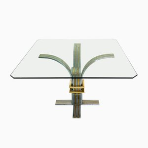 Vintage Italian Table by Romeo Rega, 1970s
