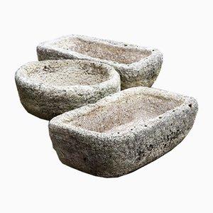 Mangiatoia in pietra, Francia, inizio XX secolo